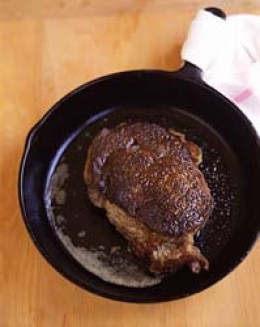 Cast Iron Steak Perfect Steakhouse Quality Steak Cooked