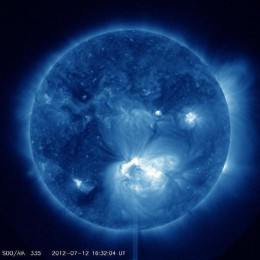 Will an increase in solar storms affect the Earth's ongoing climate change and polar shift?