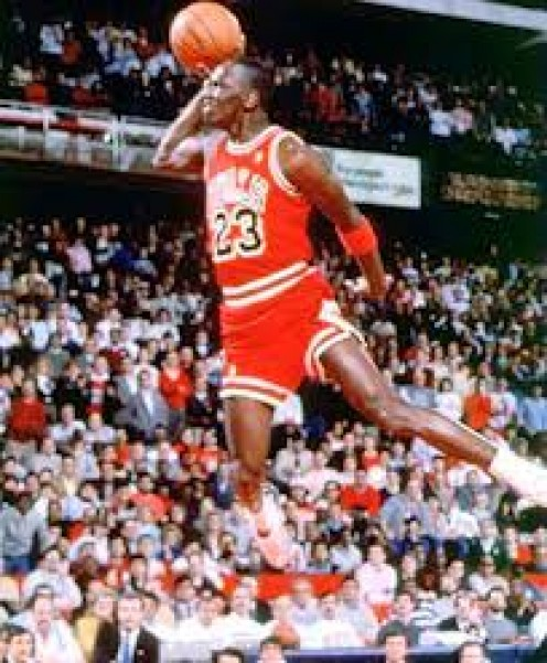 Air Jordan won 6 championships playing for the Chicago Bulls. His airiness was also the rookie of the year.