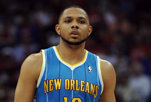 Eric Gordon wanted to go to Phoenix, but NO wouldn't allow it.  Might be a reason enough to stay away from him.  He doesn't want to play in NO, period.