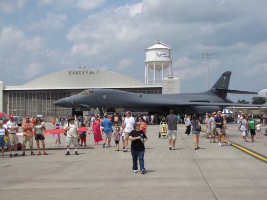 The B-1 Bomber