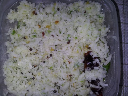 coconut chutney ( dry )