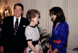 Jackie O with Reagans