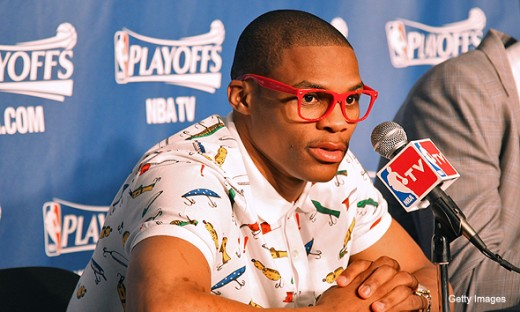 Probably the goofiest of all the top-5, but don't let that fool you.  Westbrook's eccentric game is conducive to winning.  Don't sleep on him.