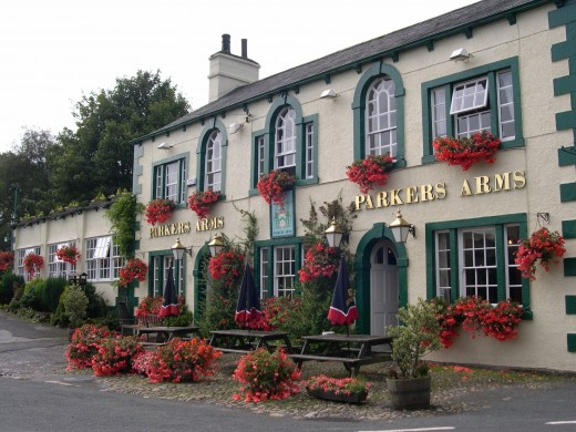 english pub - the parkers arms
