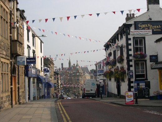 Clitheroe Market Town