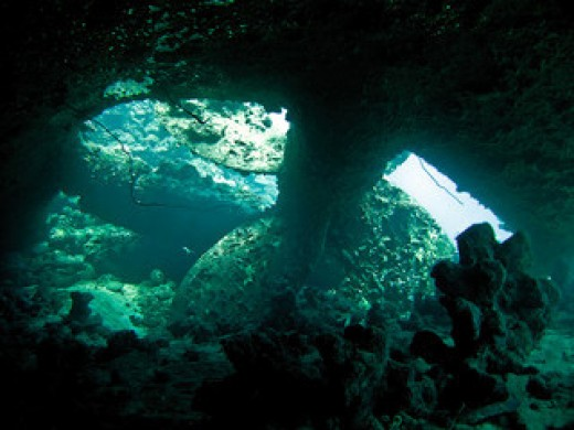 Part of the Marble wreck, in Jeddah Red Sea