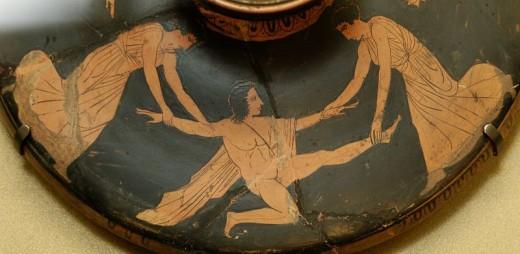 The Death of Pentheus [public domain]