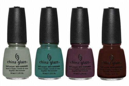 China Glaze Elephant Walk, Exotic Encounters, Jungle Queen, Prey Tell