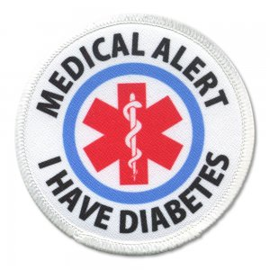 Medical alert  for diabetes