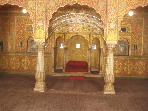 Anoop mahal inside Junagdh fort.