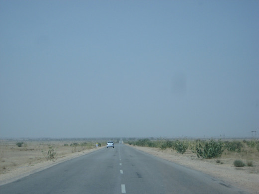 Smooth roads from Bikaner to jaisalmer