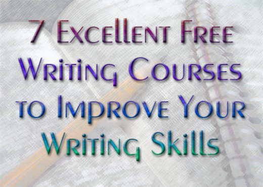 free online writing courses Time4writing offers a broad selection of 8-week online writing courses taught by certified teachers each course includes one-on-one instruction, prompt and.