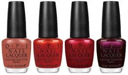 OPI Schnapps Out Of It, Deutsche You Want Me Baby, Danke-Shiny Red, German-icure