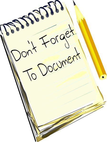 Don't forget to document the things that you go through when you are in a bullying situation.