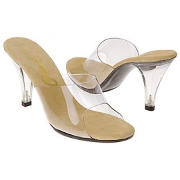 Lucite Shoes - A Case of style over comfort?
