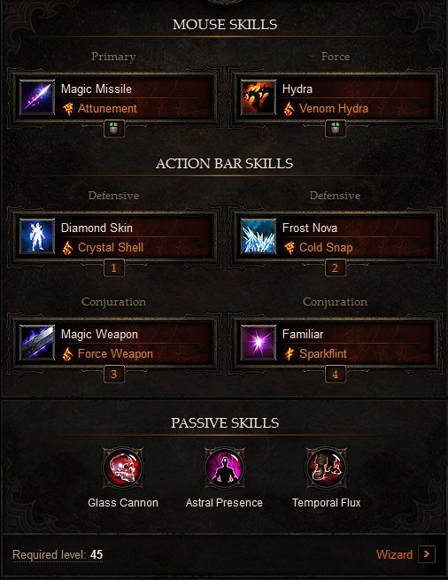 High DPS Wizard Build