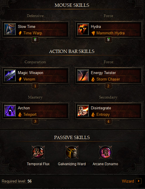 PVP Wizard Build