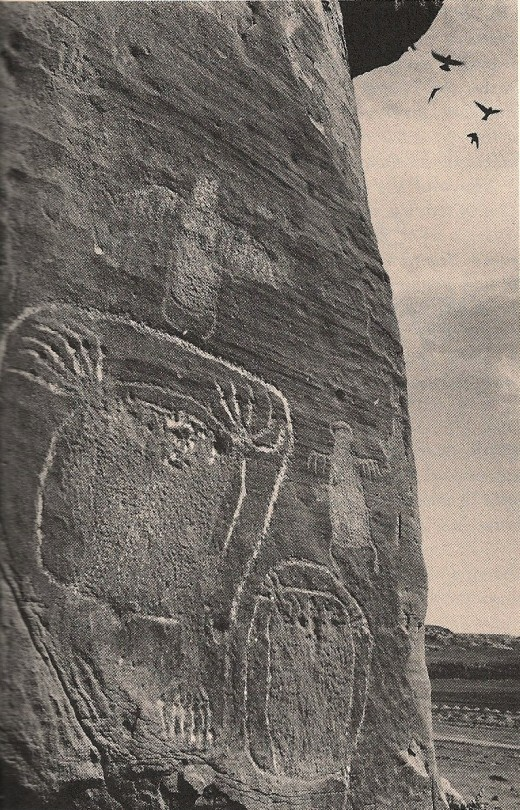 Wyoming petroglyphs