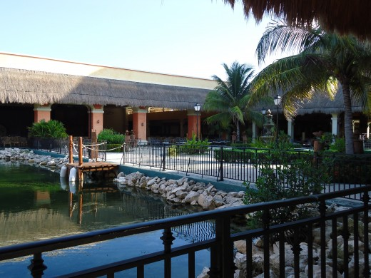 An inside pic of the Resort
