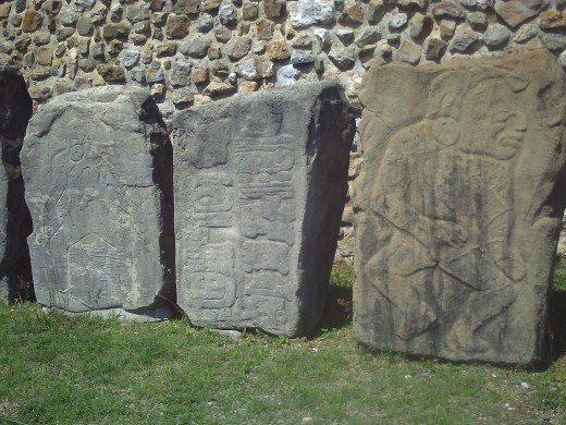 Stelae 12 and 13