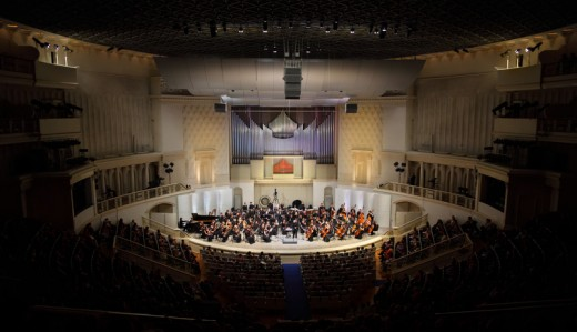 A Modern Symphony Orchestra (This one's in Moscow!)