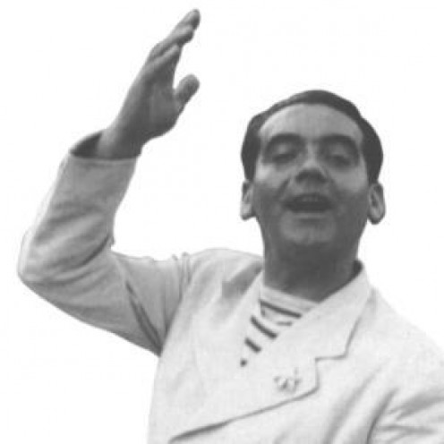 Photo of Federico Garcia Lorca.