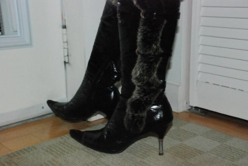 The killer boots~
