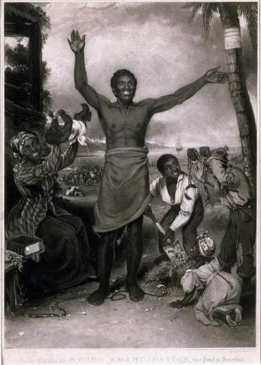 Slaves in the Virgin Islands were not emancipated until 1848, 114 years after the slave revolt.