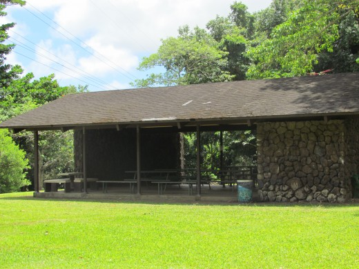 Picnic facilities are available for groups