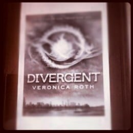 Divergent on my Kindle Fire