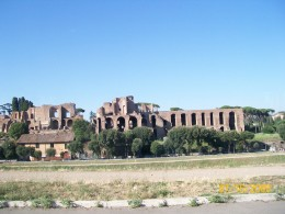 The ruins of Rome