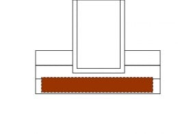 Fig 2. Removing siding