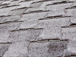 Worn, dilapidated, or multiple layers of shingles can indicate expensive repairs. (Curled shingles that are otherwise in good shape are signs of poor insulation.)