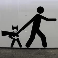 A single child can be a super-hero or super-heroine!