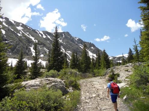 Hiking in Breckenridge, Colorado