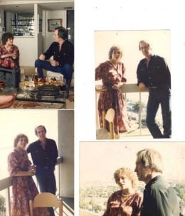 One dream my childhood friend made come true was setting up an interview between David Carradine (Actor) and myself. David was always my favorite and this was a milestone for me. After the interview, Jonathan & I went downhill fast!