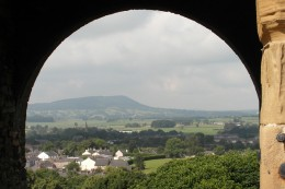 Clitheroe Castle view North