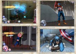Captain America: Sentinel of Liberty, more freestyle finger playing than your typical side scrolling beat'em'up.