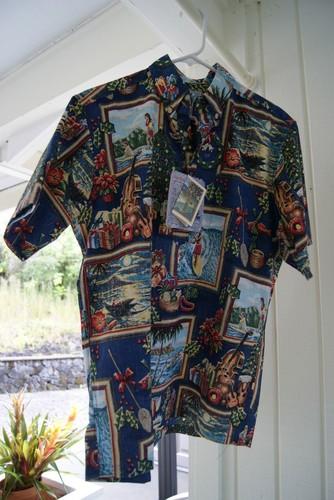 Reyn Spooner Xmas Aloha Shirt