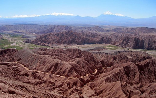 The Atacama Valley in all its incredible majesty.