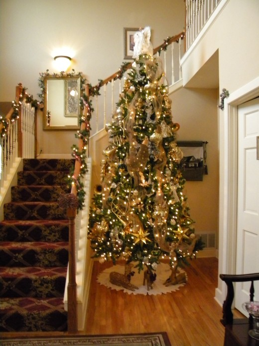 Artificial trees allow you to decorate earlier and enjoy the decor longer.