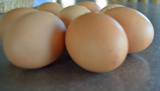Eggs are perfect for low fat cooking.