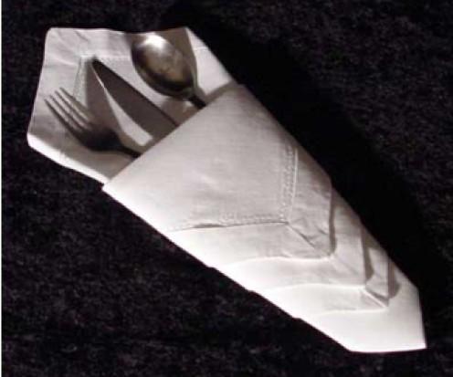 Stop tarnish on silverware