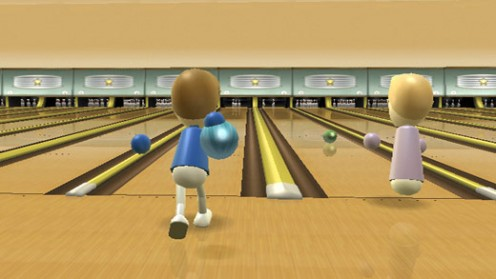 To Save The Embarrassment, You Could Always Play Bowling On The Wii