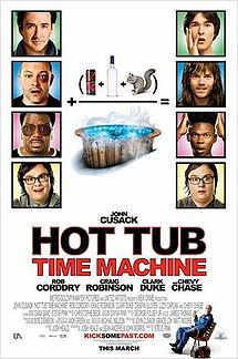 Hot Tub Time Machine Poster.