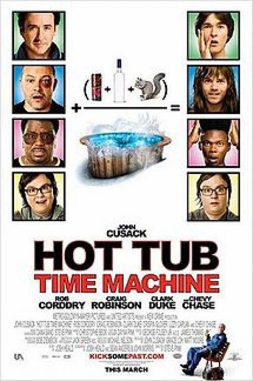 Hot Tub Time Machine Poster.