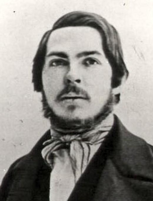 Friedrich Engels, 1840. Public Domain Image. Photo Author Unknown.
