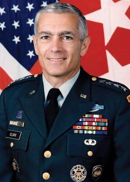 Military photo portrait of U.S. General Wesley Clark