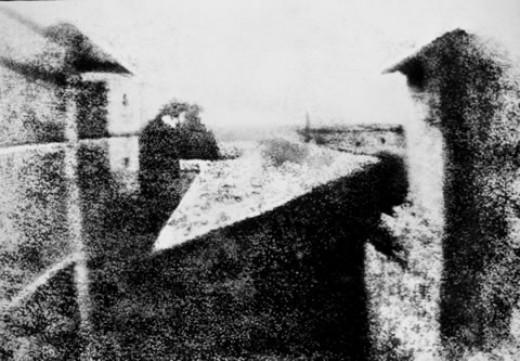 Nicephore Niepce's First Image
